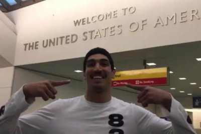 'Countryless' Enes Kanter says dad arrested by 'Hitler of our century'