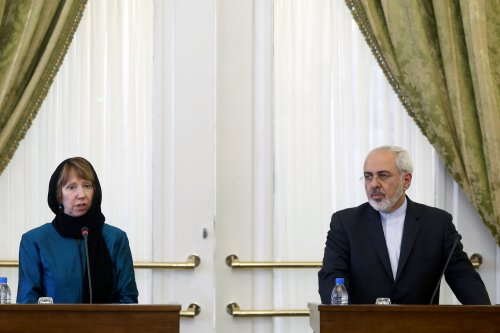 EU's foreign policy chief visits Iran
