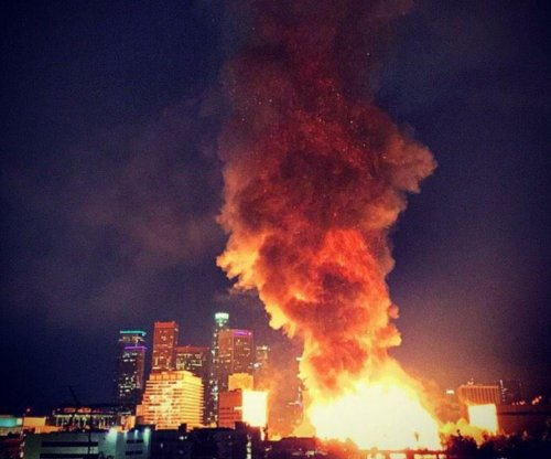 Officials say arson to blame in massive LA apartment fire