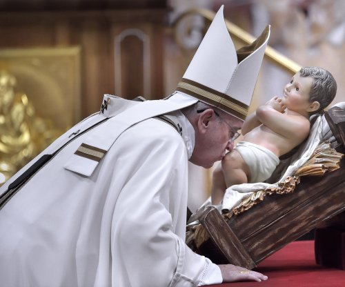 Pope's Christmas message: 'So many tears'