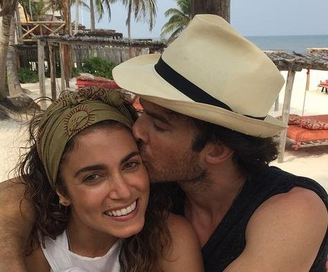 Nina Dobrev 'happy' for ex Ian Somerhalder and Nikki Reed