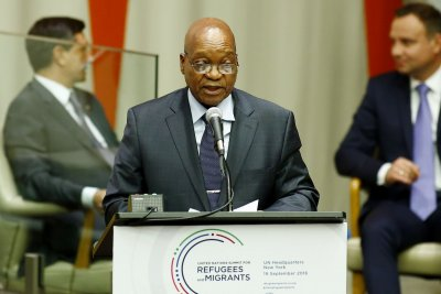 Anti-corruption protests call on South Africa's Jacob Zuma to resign