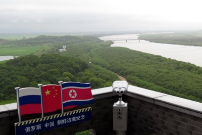 Report: North Korea running massive fish market at China border