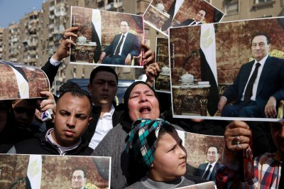 Funeral begins 3 days of mourning for former Egyptian leader Mubarak