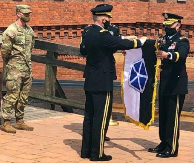 U.S. Army establishes V Corps forward command in Poland