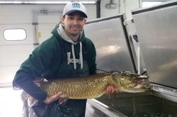 Iowa's oldest female muskie caught after dodging nearly 2,000 nets