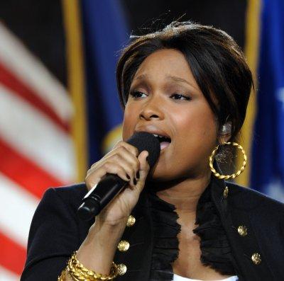 Hudson delivers Super Bowl anthem