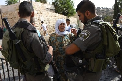 Israeli security forces, Palestinians clash ahead of Jewish new year