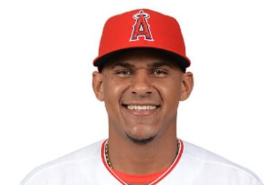 Los Angeles Angels' Jefry Marte gets first career grand slam with mom in stands
