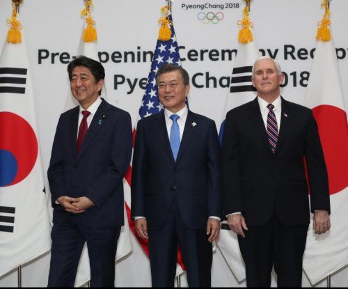 Mike Pence avoids North Korean official at Olympic reception