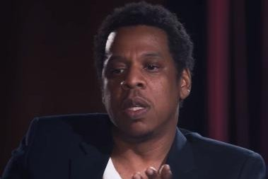 Jay-Z imitates Eminem, Snoop Dogg's rapping style to Letterman