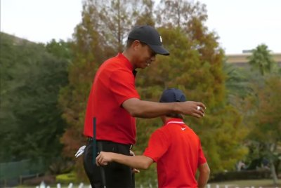 Tiger Woods, son Charlie finish seventh at PNC Championship