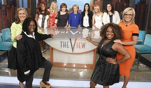 Barbara Walters tapes her final episode as co-host of 'The View'