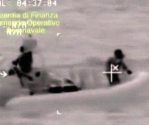 Captain, crewman arrested for Mediterranean boat sinking