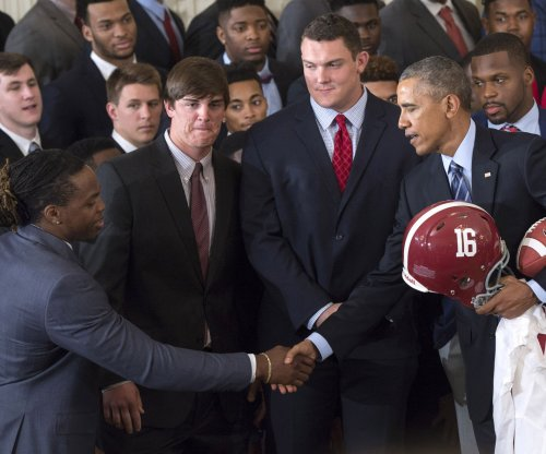 Obama welcomes national champs Crimson Tide: 'You can call me O'Bama'