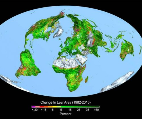 NASA: Higher CO2 levels reponsible for 'greening' Earth