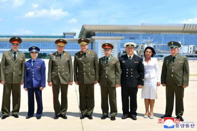 North Korea, Russia top brass agree on military 'cooperation' in Pyongyang