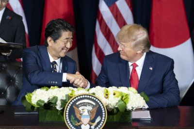 U.S., Japan ink trade pacts on agriculture, digital goods