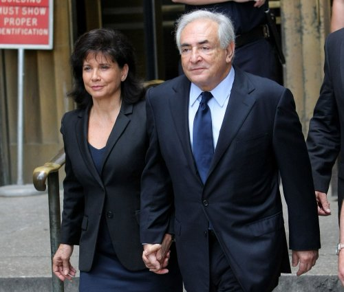 Strauss-Kahn's wife edits news Web site