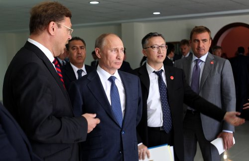 Suspect questioned in Putin plot