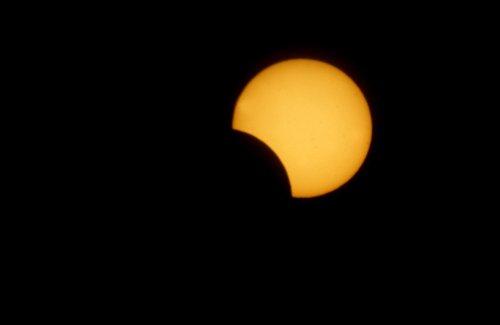 Partial solar eclipse Sunday morning