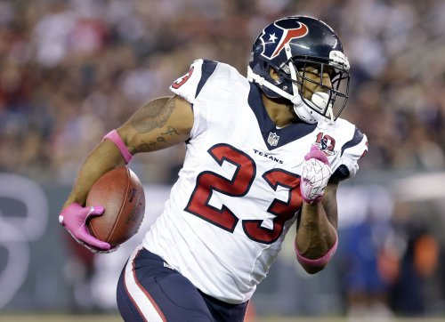 Arian Foster confronted on lawn by reporter about abortion and mistress allegations