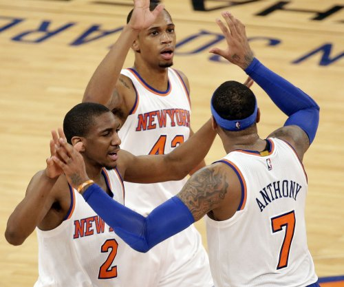 Oklahoma City Thunder fall to New York Knicks as Durant sits again