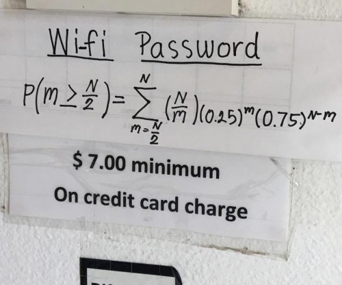 Restaurant trolls customers with complex WiFi password equation