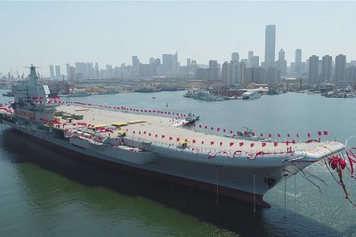 China's shipbuilder hints at third aircraft carrier