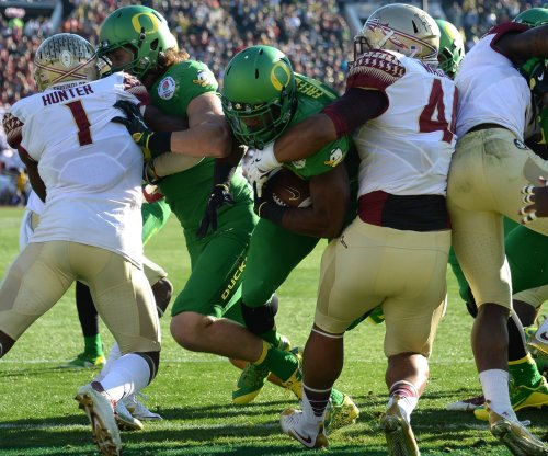 RB Royce Freeman signs rookie deal with Denver Broncos