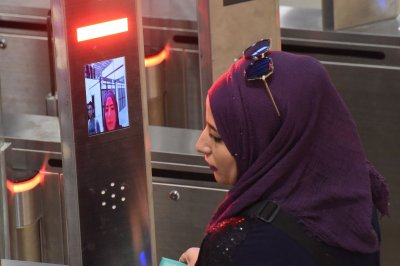 High-tech Jerusalem border checkpoint scanning 4,000 people a day