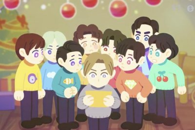 Super Junior shared animated 'Tell Me Baby' music video teaser