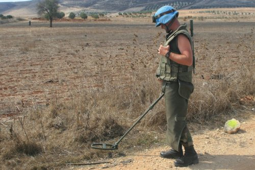 ICRC notes progress on cluster bombs