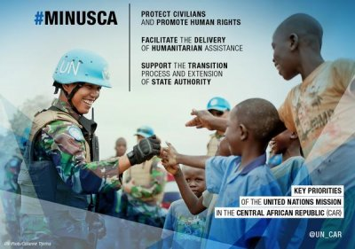 U.N. assumes peacekeeping responsibility in Central African Republic