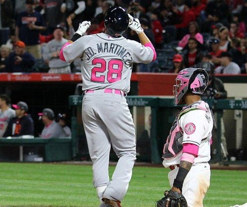 First 2 homers of year by J.D. Martinez powers Detroit Tigers past LA Angels