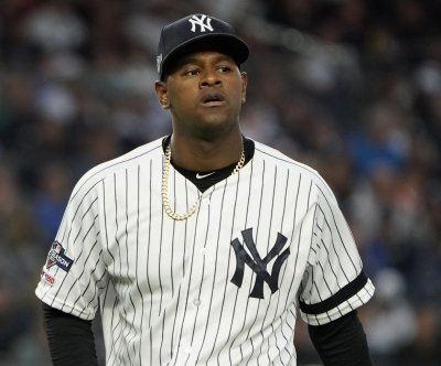 New York Yankees shut down Luis Severino with right forearm soreness