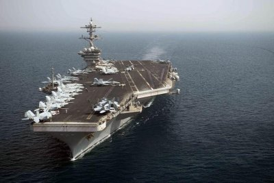 Navy searching for possible sailor overboard from USS Theodore Roosevelt