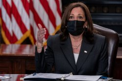 Harris meets with tribal leaders to discuss Native American voting rights