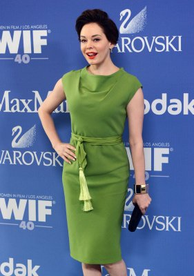 Smoke bomb interrupts NYC diners, including Rose McGowan