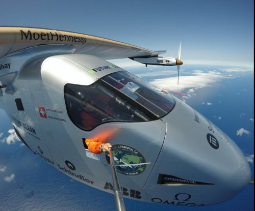 Plane completes first solar-powered cross-Atlantic flight