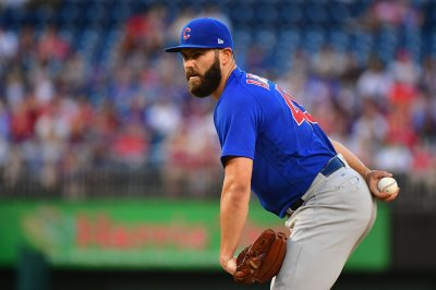Jake Arrieta stymies former team as Chicago Cubs rout Baltimore Orioles
