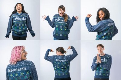 Airline offers priority seating to passengers in ugly Christmas sweaters