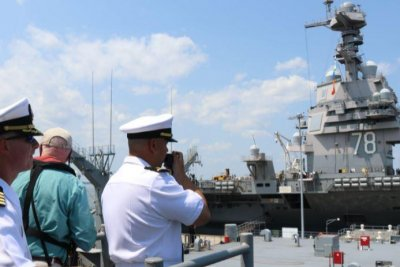 USS Vella Gulf comes home after four-month deployment
