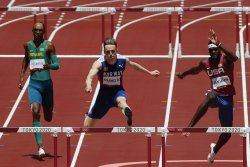 Olympics: Brittney Reese, Rai Benjamin win silver in track events for Team USA