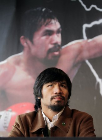 Boxer Pacquiao's home burglarized