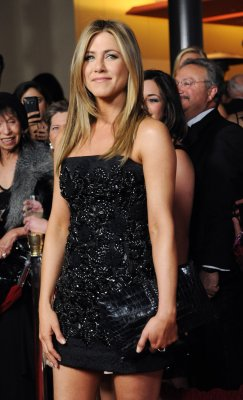 Aniston celebrates 43rd birthday