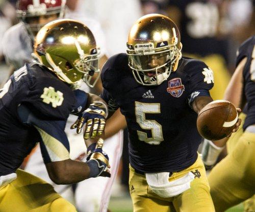 Notre Dame QB Golson says he's transferring