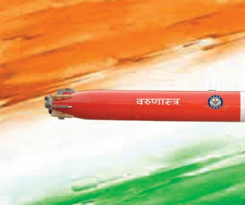 Varunastra missile handed over to Indian navy