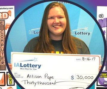 Woman tries to cash in $3,000 lottery ticket, actually gets $30,000