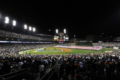 Bomb threat at Detroit's Comerica Park